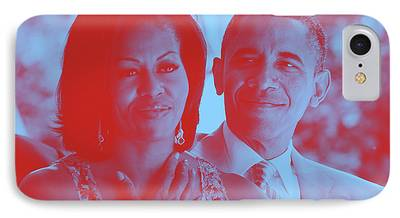 Barack And Michelle Obama iPhone Cases