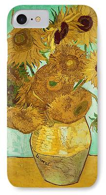Sunflowers iPhone Cases