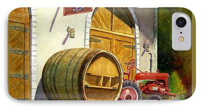 Barrel Paintings iPhone Cases