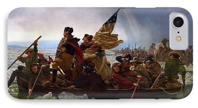 1776 Digital Art iPhone Cases