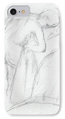 Signed Drawings iPhone Cases