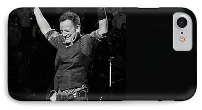 Bruce Springsteen Photographs iPhone Cases