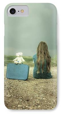 Lonely Girl iPhone Cases