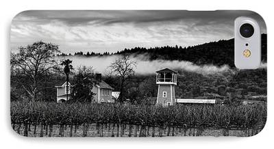 Napa Valley And Vineyards iPhone Cases
