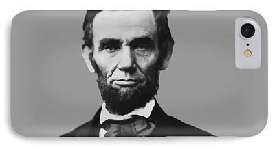 Emancipation Proclamation Mixed Media iPhone Cases