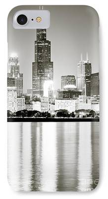 Willis Tower Photographs iPhone Cases