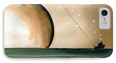 Outer Space Paintings iPhone Cases