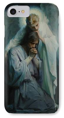 Messiah Drawings iPhone Cases