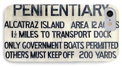 Alcatraz Photographs iPhone Cases
