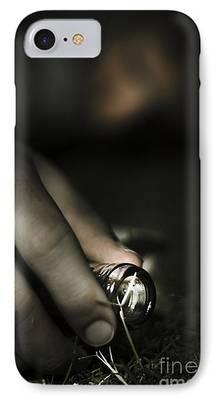 Wine Bottle Paining iPhone Cases