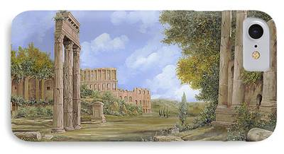 Ruins Paintings iPhone Cases