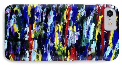 Splashy Art iPhone Cases