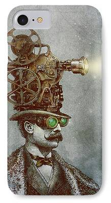 Film Drawings iPhone Cases