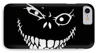 Creepy Drawings iPhone Cases