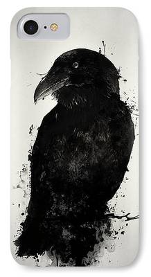 Crows Photographs iPhone Cases