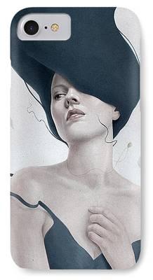 Surrealism Digital Art iPhone Cases