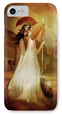 Athena iPhone Cases