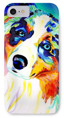 Dawgart Paintings iPhone Cases