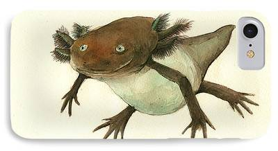 Salamanders iPhone 7 Cases