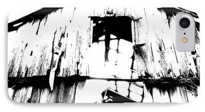 Barns Digital Art iPhone Cases