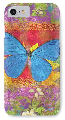 Butterfly Garden iPhone Cases