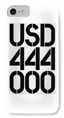 444 iPhone Cases