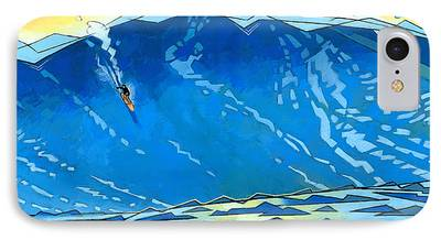 Surfer iPhone Cases