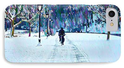 Snow Kelly Drive iPhone Cases