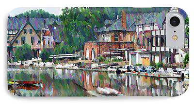 Boathouse iPhone Cases