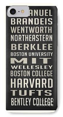 Northeastern University iPhone Cases