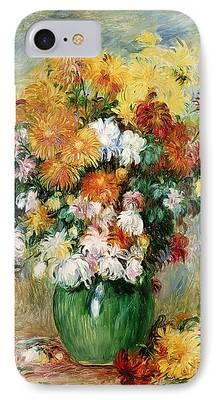 Chrysanthemum iPhone Cases