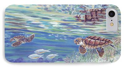 Nature Center Paintings iPhone Cases