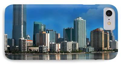 Miami Photographs iPhone Cases