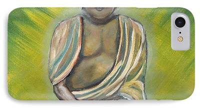 Siddharta Paintings iPhone Cases