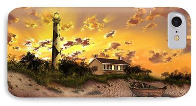 Cape Lookout iPhone Cases