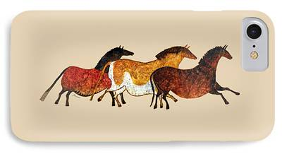 Stone Pony Paintings iPhone Cases