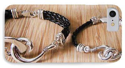 Sterling Silver Bracelet iPhone Cases