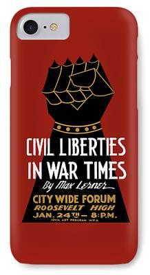 Civil Liberties iPhone Cases
