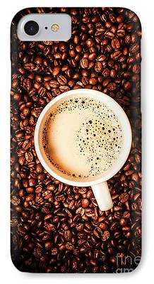 Coffee Drinking iPhone Cases