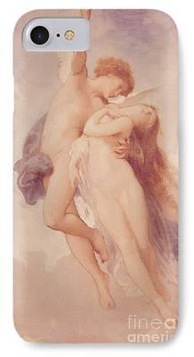 Goddess Mythology Paintings iPhone Cases