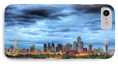 Dallas Skyline iPhone 7 Cases