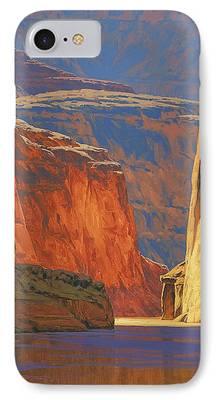 Landscape Oil iPhone Cases