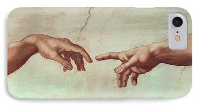 Michelangelo iPhone Cases