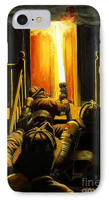 Fire iPhone Cases