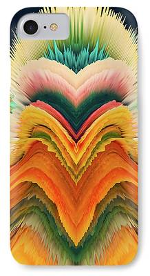 Algorithmic Abstract iPhone Cases