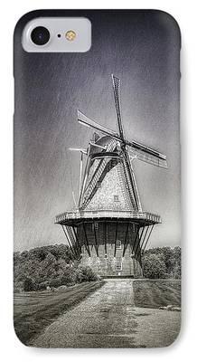 Windmills iPhone Cases