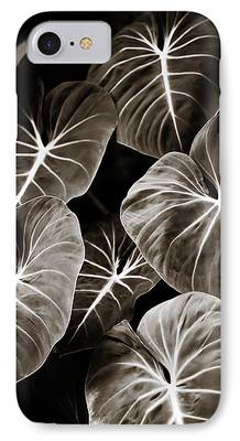 Elephant Ear Plant iPhone Cases
