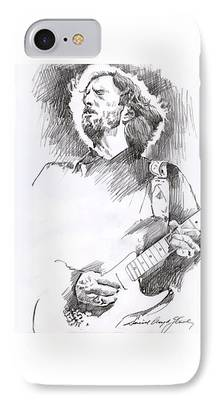 Strat Drawings iPhone Cases