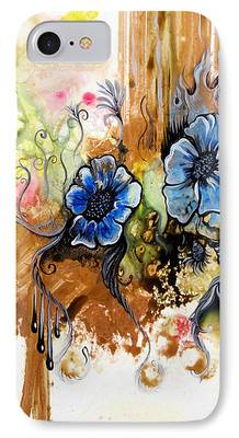 Airbrush Drawings iPhone Cases