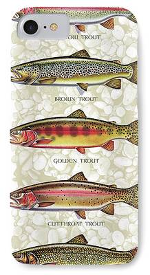 Trout iPhone 7 Cases